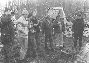 Rechtler im Gemeindewald